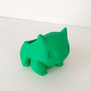 Tiny Bulbasaur 3D Print Air Plant Planter Pokémon